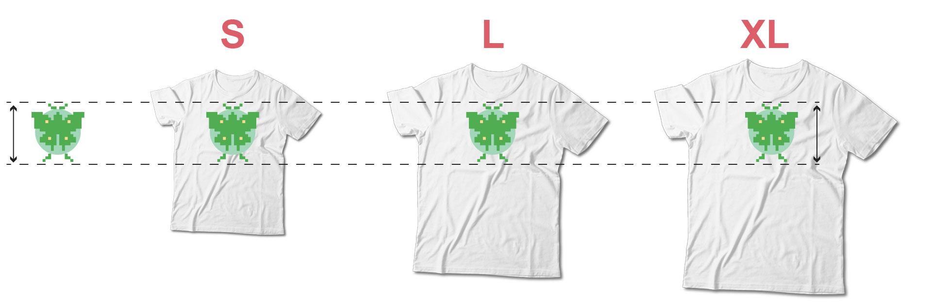 shirt size comparisons